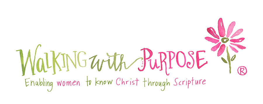 walking with purpose logo